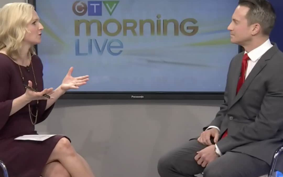 Armoured Suits Criminal Defence Lawyer, Joshua Clarke, on CTV Morning Live Ottawa