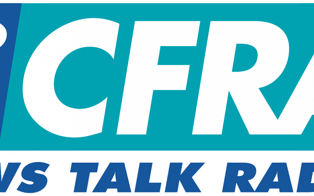 "Joshua Clarke on 580 CFRA ""Experts On Call"""