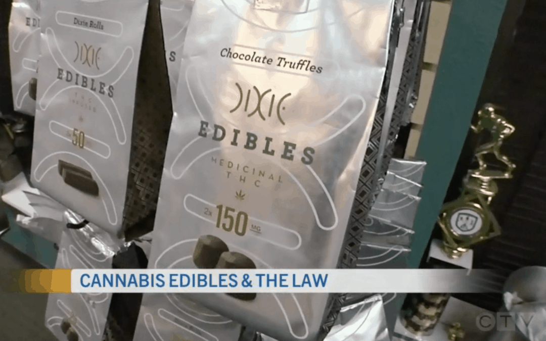 Cannabis Edibles and The Law